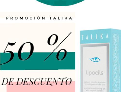 Promoción Talika a 2ª unidad a mitad de precio